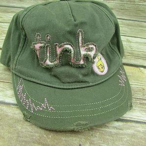 Disneyland Resort Tink Distressed Girls Hat